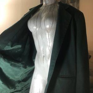 Dark Christmas Green Sleek Professional Blazer